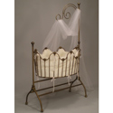 Sheer Beauty Iron Cradle Iron Baby Cradles At Luxurylamb Com
