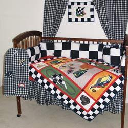 Race Car Crib Bedding Set Baby Boy Bedding Cars Theme Sets