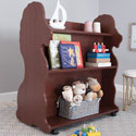Mobile Lion Bookcase