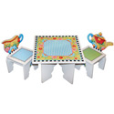 Mary Englebreit Tea Time Table and Chair Set