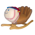 Homer Baseball Glove Rocker