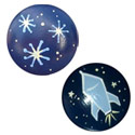 Outer Space Knob (Pack of 6)