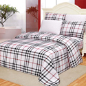 Checkered Printed Sheet Set