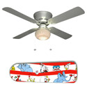 Dr. Seuss Characters Ceiling Fan