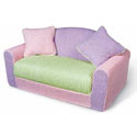 Kid's Multi Chenille Sofa Sleeper