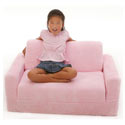 Child's Chenille Sofa Sleeper