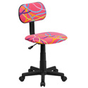 Printed Swivel Chair