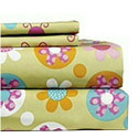 Flower Power Twin Sheet Set