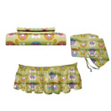 Flower Power Crib Bedding Set