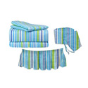 Funky Stripes Crib Bedding Set