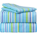 Funky Stripes Twin Sheet Set