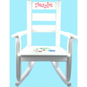 Personalized Jungle Rocking Chair