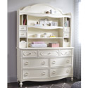 Harmony Bookcase Hutch with Dresser