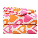 Heart to Heart Twin Sheet Set