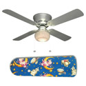 Hey Diddle Diddle Nursery Rhyme Ceiling Fan