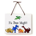 Dino Just Because Plaque