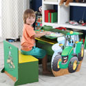 Johnny Tractor Activity Table