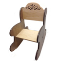Kids Natural Finish Rocker