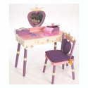 Princess Vanity Table & Chair Set