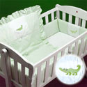 Mini Jungle Cradle Bedding