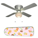 Little Girls Mermaids Ceiling Fan