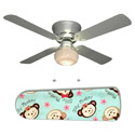 Little Girls Silly Monkey Ceiling Fan