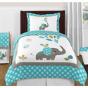 Mod Elephant Twin/Full Bedding Collection