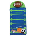 Personalized Sports Nap Mat