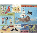 It's a Pirates Life For Me Stretched Canvas
