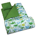 Personalized Dinomite Dinosaur Sleeping Bag