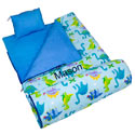 Personalized Dinosaur Land Sleeping Bag