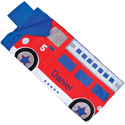 Personalized Fire Truck Sleeping Bag