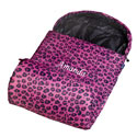 Personalized Pink Leopard Stay Warm Sleeping Bag