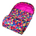 Personalized Pinwheel Stay Warm Sleeping Bag