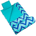 Personalized Zigzag Lucite Sleeping Bag