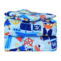Pirates Treasure Twin Sheet Set