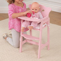 Pretty in Pink Doll High Chair