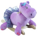 Personalized Gracie the Hippo Rocker