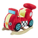 Personalized Speedy the Race Car Rocker