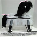 Little Princess Damask Rocking Horse