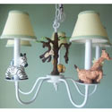 African Plains Safari Chandelier