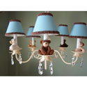 Teddy Time Chandelier