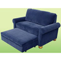 Sleep & Store Chair/Ottoman Combo