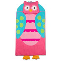 Personalized Lil' Owl Sleeping Bag