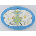 Heaven Sent Boy Plaque