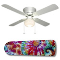 Tie Dye Splash Ceiling Fan