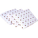 Chocolate Dots Porta Crib Sheets