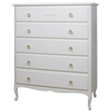 French Madison 5 Drawer Chest