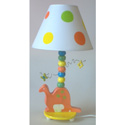 Dinosaur Ceramic Lamp