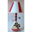 Racing Flag Lamp